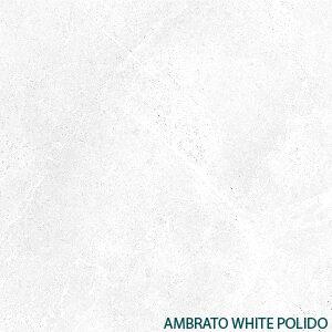 Ambrato White Polido<br>120×120 cm