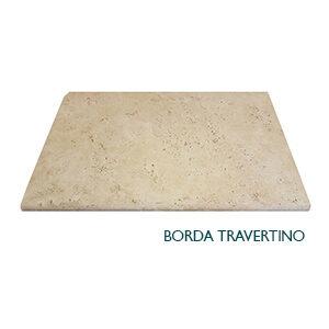 Borda Travertino<br> 40,06 x 61 cm