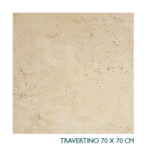 Travertino<br>70X70cm