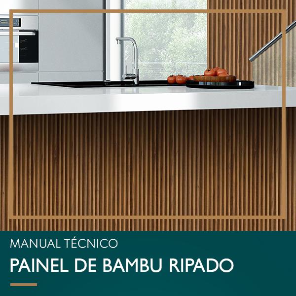 MANUAL TÉCNICO – PAINEL DE BAMBU RIPADO